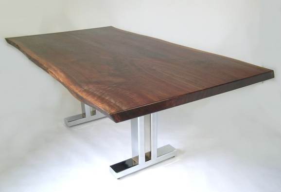 Pleasing Custom Live Edge Dining Tables Download Free Architecture Designs Licukmadebymaigaardcom